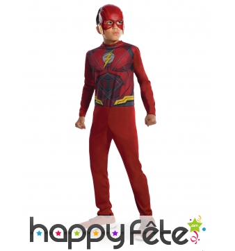 Costume de Flash Justice League pour enfant