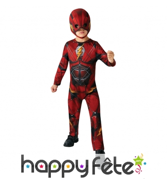 Costume de Flash pour enfant, Justice league