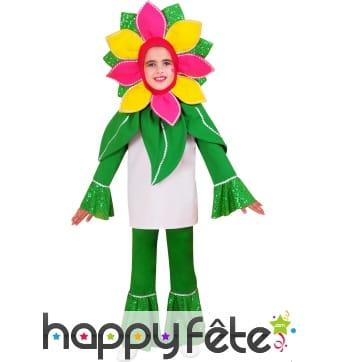 Costume de fleur