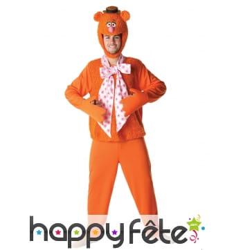 Costume de Fozzy pour adulte, Muppets Show