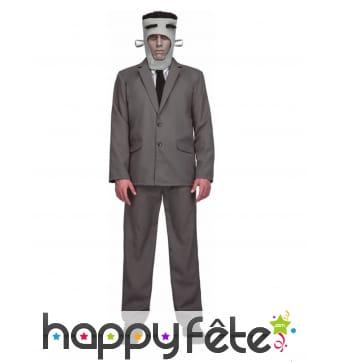 Costume de Frankenstein en smoking gris, adulte