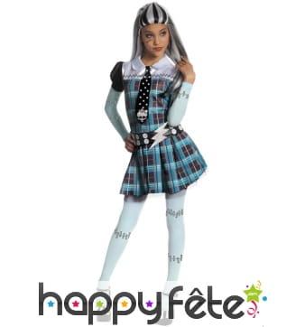 Costume de Frankie Stein pour fille