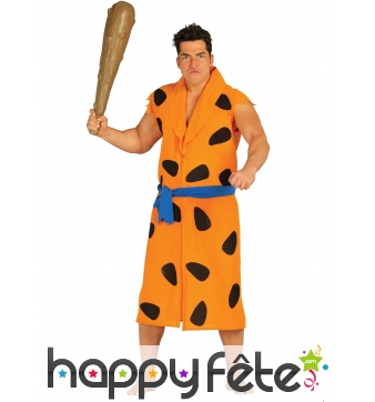 Costume de Fred Flintstone pour adulte, Pierrafeu