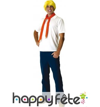 Costume de Fred Licence Scoobydoo