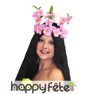 Couronne de fleur tahitienne