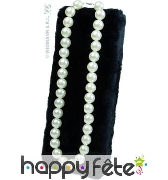 Collier de grandes perles