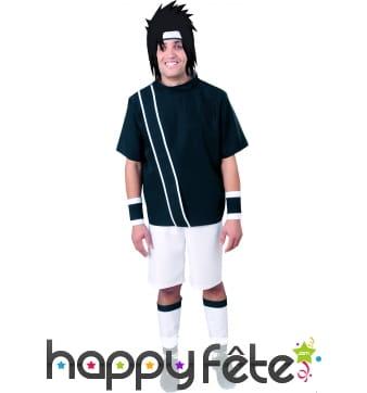 Costume de garçon manga noir