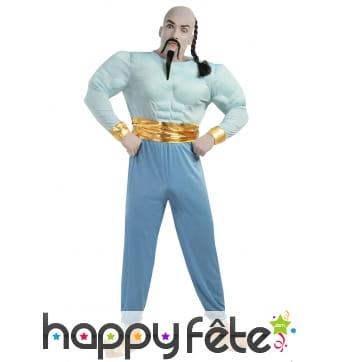 Costume de génie bleu