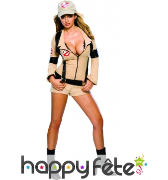 Costume de Ghostbuster femme sexy Licence