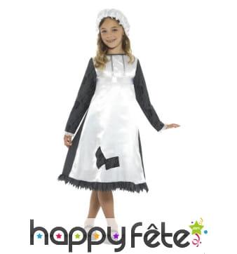 Costume de gouvernante victorienne pour enfant