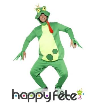 Costume de grenouille verte