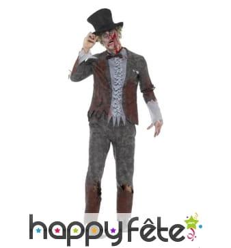 Costume de groom zombie luxe