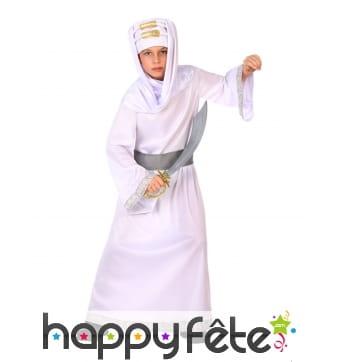 Costume de guerrier oriental pour enfant
