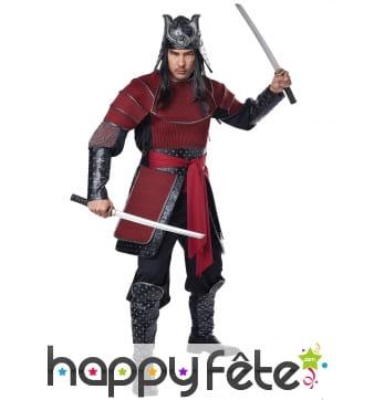 Costume de guerrier samourai pour homme