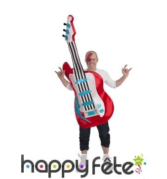 Costume de guitare électrique pour adulte