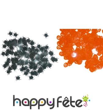 Confettis d'halloween
