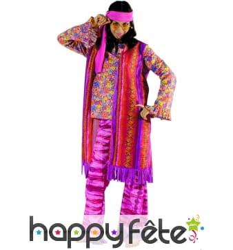 Costume d'Hippie femme violet