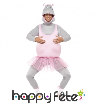 Costume d'hippopotame ballerine