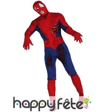 Costume d'homme araignée zombie pour adulte