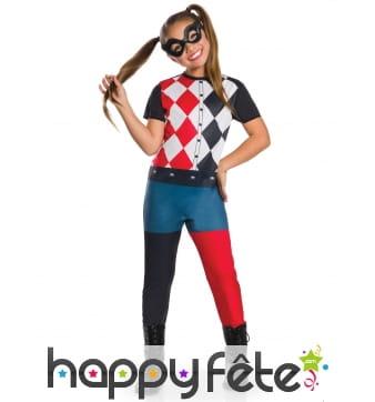 Costume de Harley Quinn pour fille
