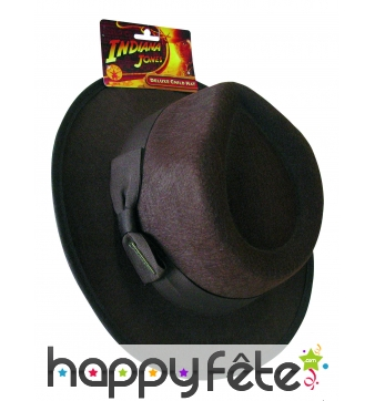 Chapeau d'Indiana Jones pour enfant