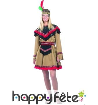 Costume d'indienne kiowa