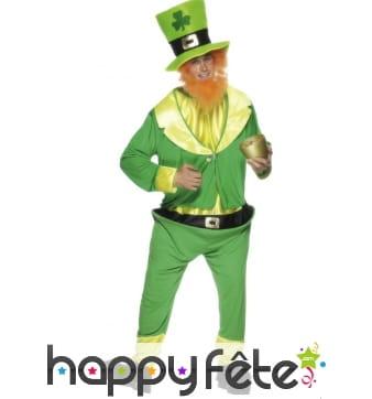Costume d'irlandais de la saint patrick