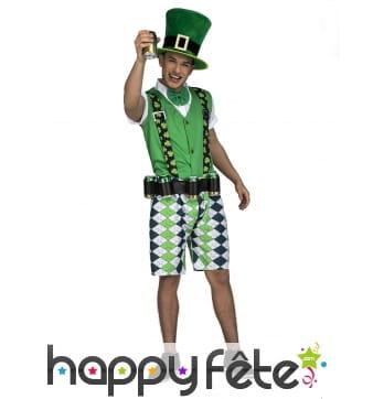 Costume d'Irlandais pour adulte