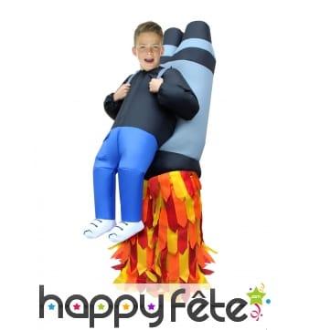 Combinaison de Jet Pack gonflable pour enfant