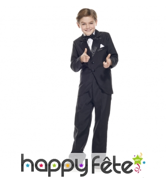 Costume de James Bond pour enfant