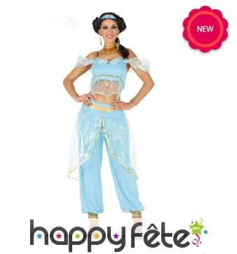 Costume de Jasmine pour femme, Aladdin