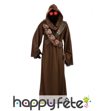 Costume de Jawa, star wars. Luxe