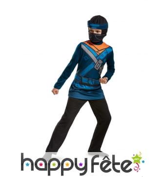 Costume de Jay Ninjago LEGO pour enfant