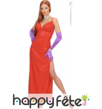 Costume de Jessica Rabbit