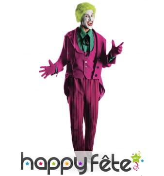 Costume de Joker grand héritage pour homme