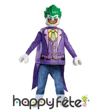 Costume de Joker Lego pour enfant