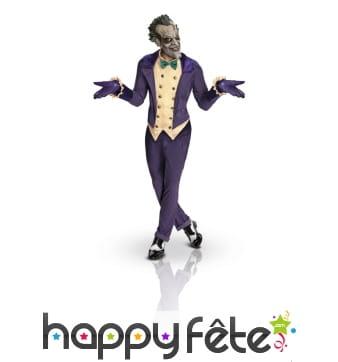 Costume de Joker version Arkham city