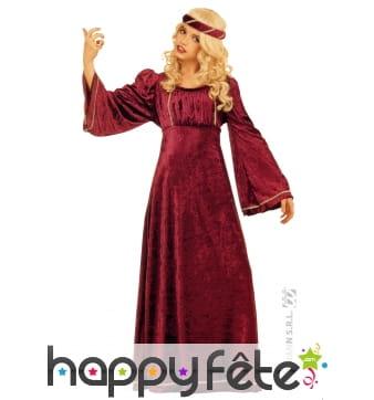 Costume de juliette en velours