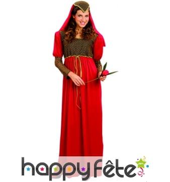 Costume de Juliette rouge