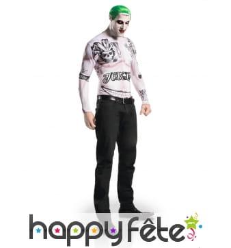 Costume du Joker avec maquillage, Suicide Squad