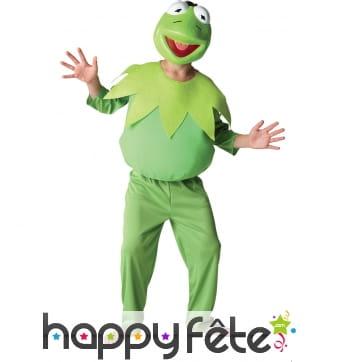 Costume de Kermit la grenouille pour enfant