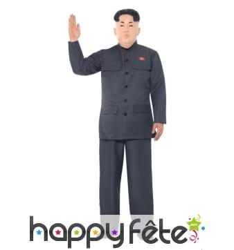 Costume de Kim Jong un pour adulte