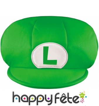 Casquette de Luigi taille enfant