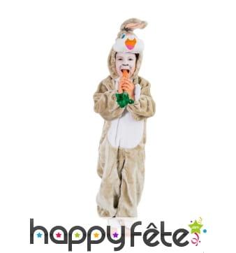 Combinaison de lapin pour enfant