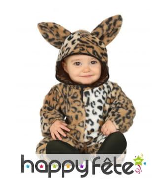Combinaison de léopard pour bébé