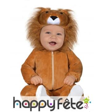 Combinaison de lion pour bébé