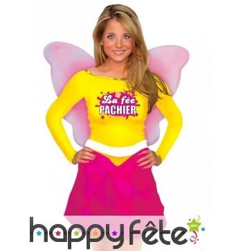 Costume de La Fée Pachier avec ailes pour femme