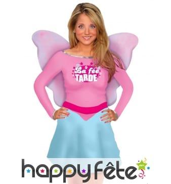 Costume de La Fée Tarde avec ailes pour femme