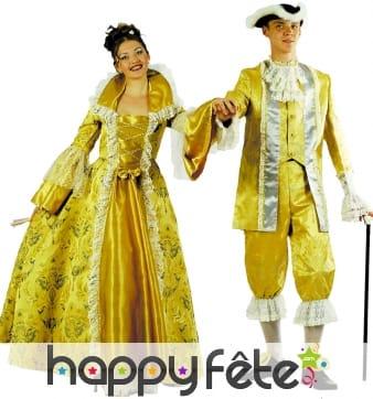 Costume de la Marquise Mademoiselle Meertey