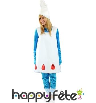 Costume de la schtroumpfette